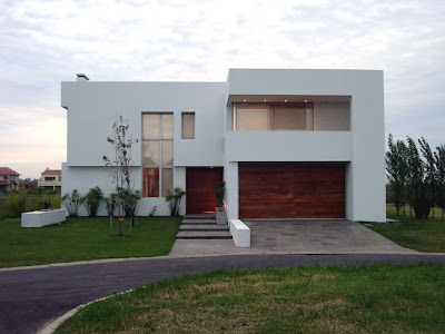 Casas minimalistas y modernas fachadas blancas - Casas blancas modernas ...