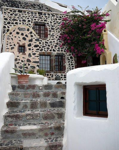 Estilo rustico escaleras rusticas for Escaleras para exteriores de madera