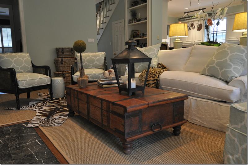 Estilo rustico mesas ratonas originales for Mesas de living