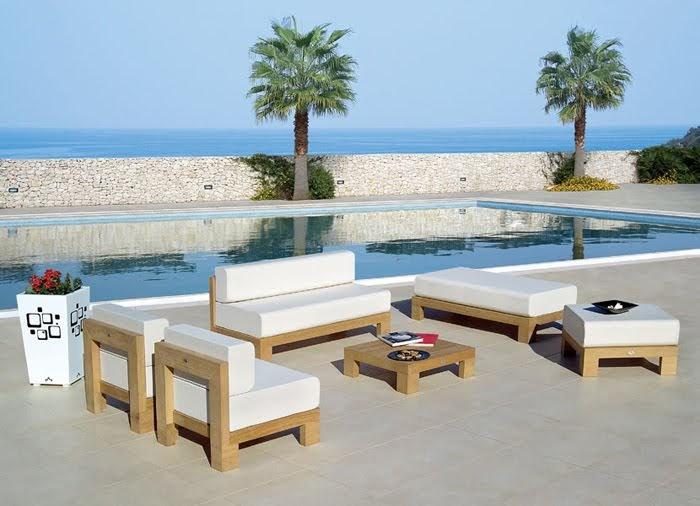 Muebles exteriores de teka opend mervin diecast for Muebles terraza teka