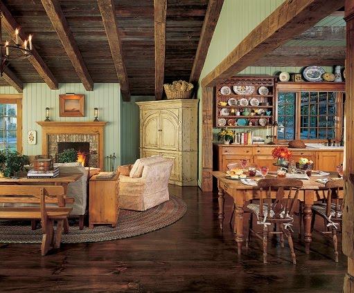 Estilo rustico rustico americano tradicional - Estilo rustico ...