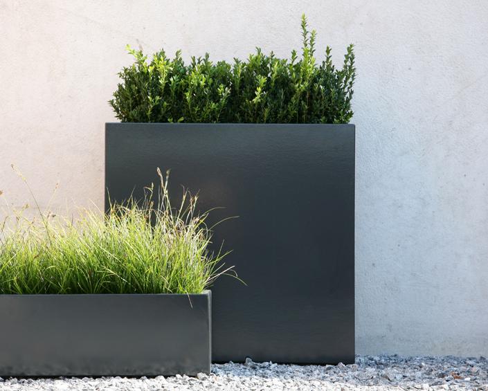 Casas minimalistas y modernas macetas actuales - Macetas minimalistas ...