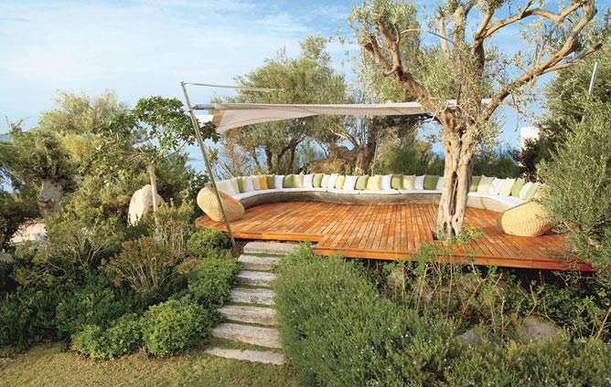 Estilo rustico jardines rusticos for Jardines de casas rusticas
