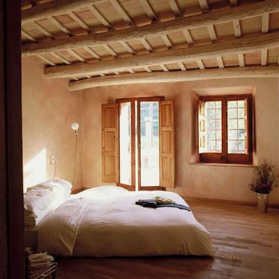 Estilo rustico entramados de madera para el techo - Techos de madera rusticos ...