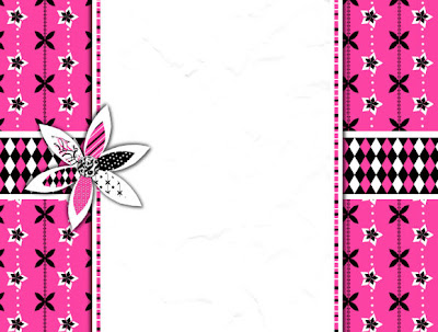 Precious Pink Free Blog Background