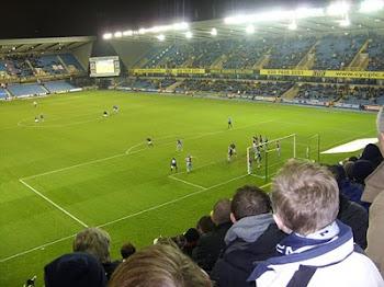 Millwall 3 v 0 Scunthorpe 4/12/10