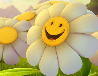 Smiley Flower Happy! wallpaper