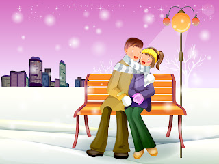 Romantic Winter Desktop Wallpapers