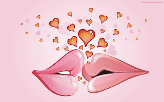 Love Kiss Bisou Coeur wallpaper