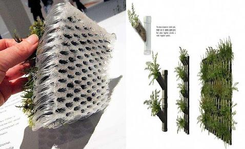 Proceso del dise o arquitect nico de un centro de for Muro verde sistema constructivo