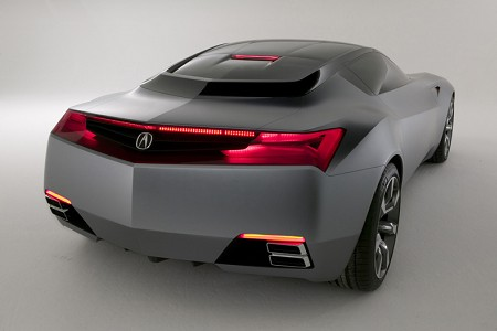 Acura Models on Acura Advanced Sports Car Concept Car Detroit