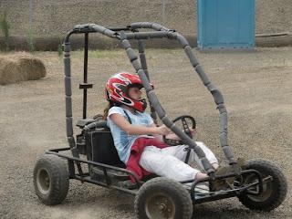 Go-cart rides!!!