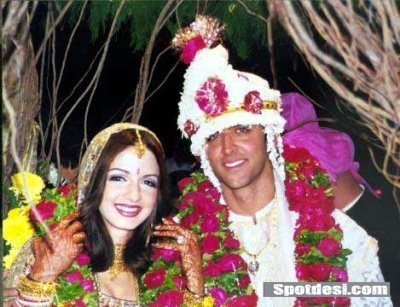 Hrithik Roshan Wedding  Photos
