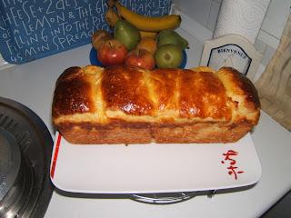 Brioche au beurre (pan dulce con manteca de origen francés)