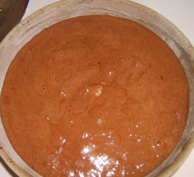 Torta de chocolate / Gâteau au chocolat