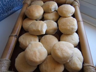 Petits pains argentins au beurre