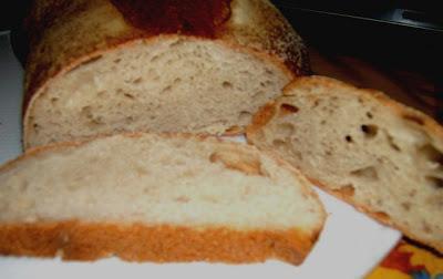 Pan 100% con masa madre líquida