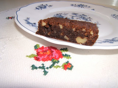 Brownies (o marroncillos) con nueces