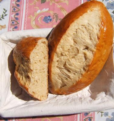 Pan dulce de Vendée, Francia (Brioche vendéenne)