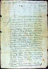 Testamento de Don Ignacio de Manjarres Mota y Padilla
