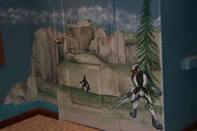 artistic murals halo mural with master chief halo 5 murals for xbox graffiti life