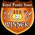 Royal Foodie Joust Award