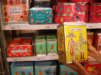 Fly is full of great present ideas like these decorated tins