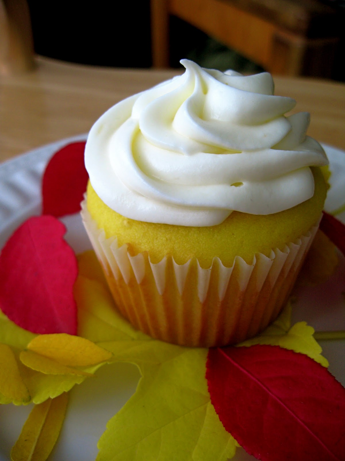 Lemon Cupcakes with Honey Almond Cream Cheese Frosting - Your Cup of ...