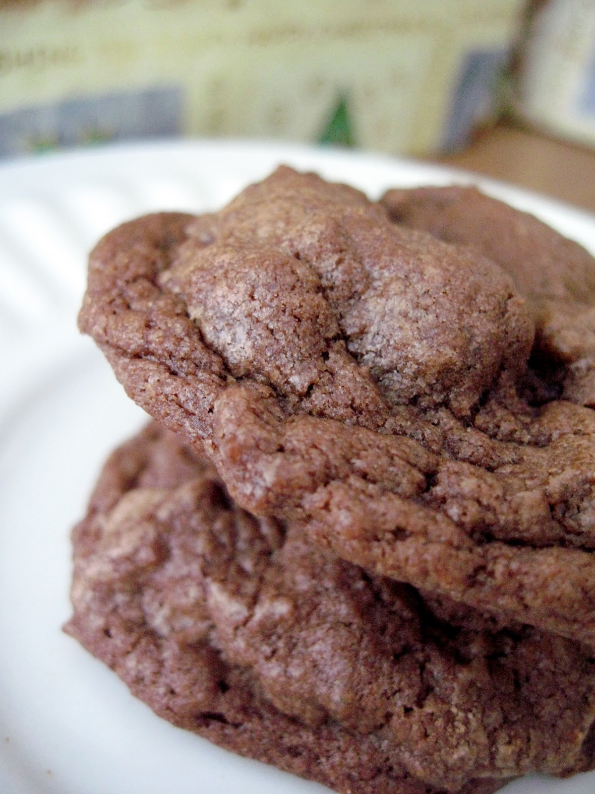 Chocolate Chocolate Chip Cookies (Ice Cream Sandwiches) - Your Cup of ...