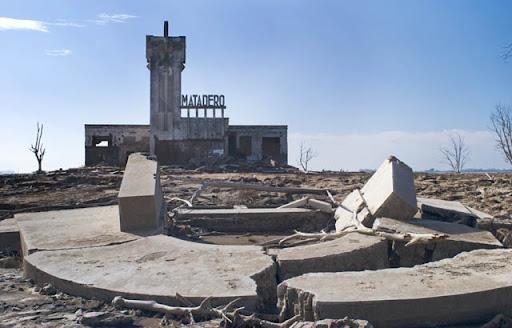 Slaughterhouse in ruins