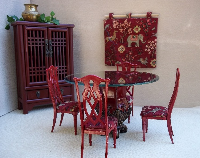 Iu0027m Seeing Red   Check Out My New Dining Set