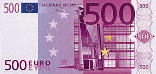 Billete euros