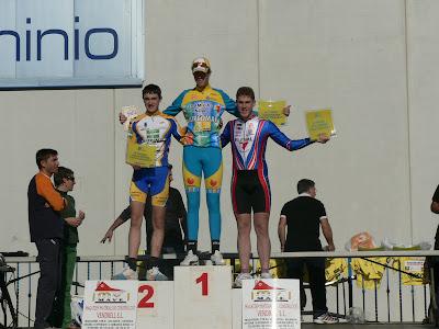 Ciclistes de Beniarrés al Trofeu Ciutat de Sueca