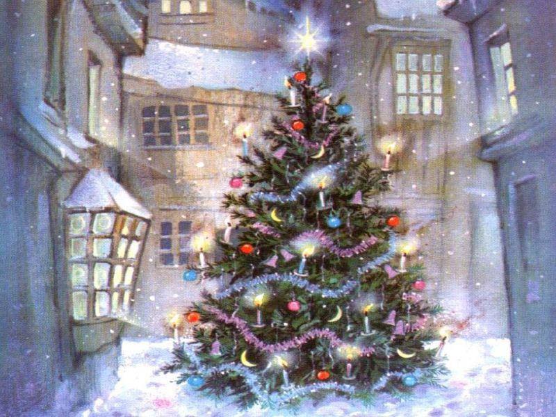 Antesala interactiva rbol de navidad - Arbol tipico de navidad ...