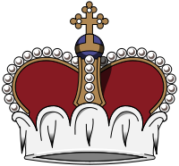A crown, symbol of royal authority