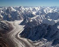 A typical glacier