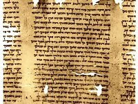 Part of a scroll of Isaiah