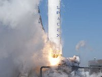 Launch of Falcon 9 and Dragon, 8th December 2010