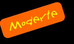 Moderte