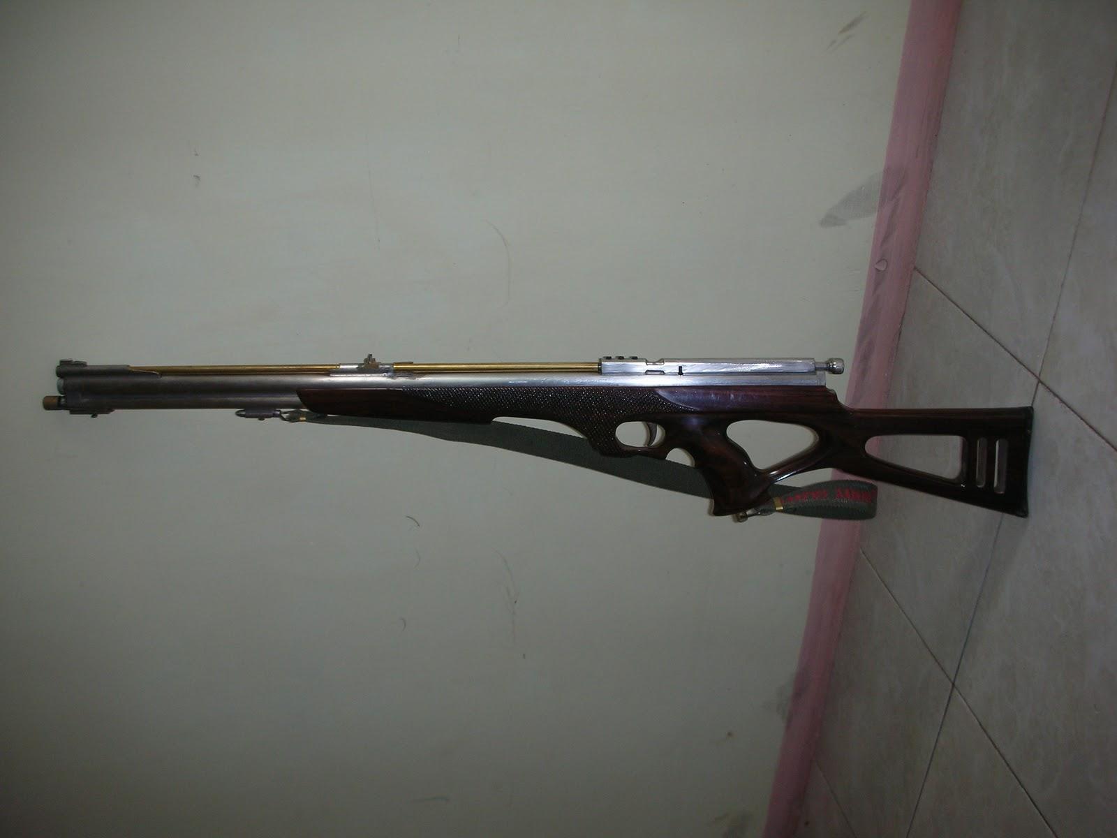 SENAPAN GEJLUK BLITAR: senapan angin gejluk laras panjang