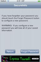 Secure Info - 개인 보안 정보 관리 툴