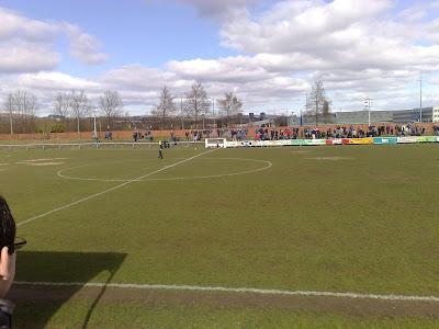 Clydebank FC V Pollok Holm Park Yoker 28 March 2009
