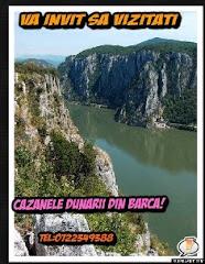 Va invit sa vizitati Cazanele Dunarii din barca