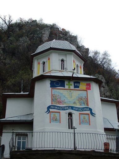 Manastirea Mraconia din Cazanele Dunarii