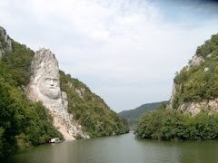 Statuia in stanca a lui Decebal - Regele dacilor