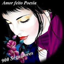 Selo comemorativo 900 Seguidores!