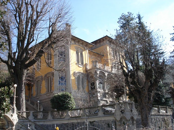 [Arquitectura] Villa Scott - Estilo Liberty
