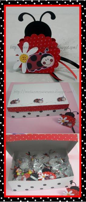 Invitaciones   Lady Bugs   Coquitos   Mariquitas