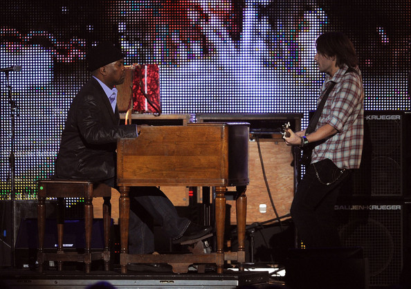 booker t jones. With Booker T Jones (Kevin