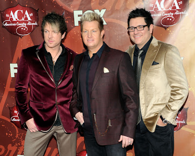 Rascal Flatts Honored with Decade Award at American Country Awards